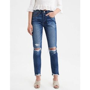American Eagle High Rise Girlfriend Jeans